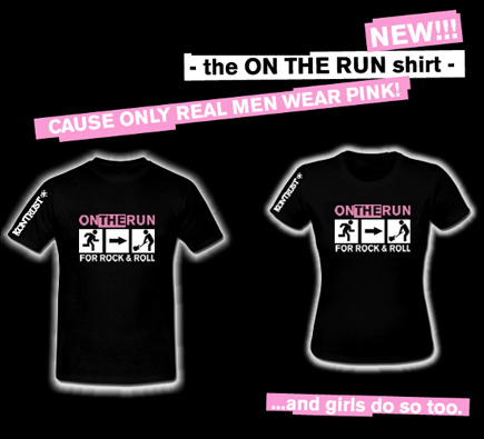 ON THE RUN SHIRT